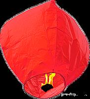 Небесный фонарик красный купол