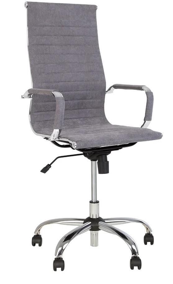 Кресло для руководителей Slim HB Chr 68 с механизмом качания ТМ Новый Стиль