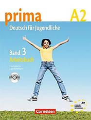 Prima Deutsch fur Jugendliche 3 Arbeitsbuch mit Audio-CD