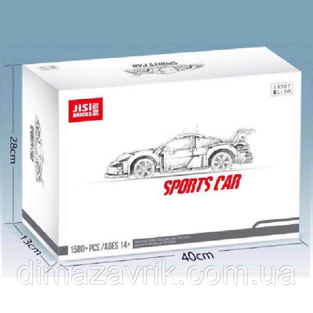 """Конструктор Decool 13387 (Аналог Lego Technic 42096) """"Porsche 911 RSR"""" 1580 деталей"""