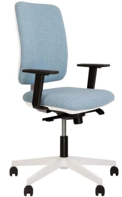 Кресло для руководителей Smart R white-grey ST PL71 ТМ Новый Стиль