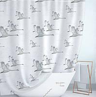 Шторка для ванной текстильная Турция (6771)