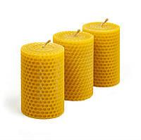 Свеча из натуральной вощины 8*5.5см
