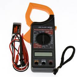 Мультиметр тестер Токоизмерительные клещи DT-266C прозвонка Digital Clamp Meter