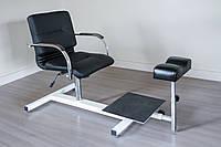Педикюрное кресло Mebel Studio ПК 2 черное (00204)
