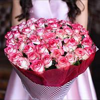 Букет из 51 розы Джумилия, фото 1