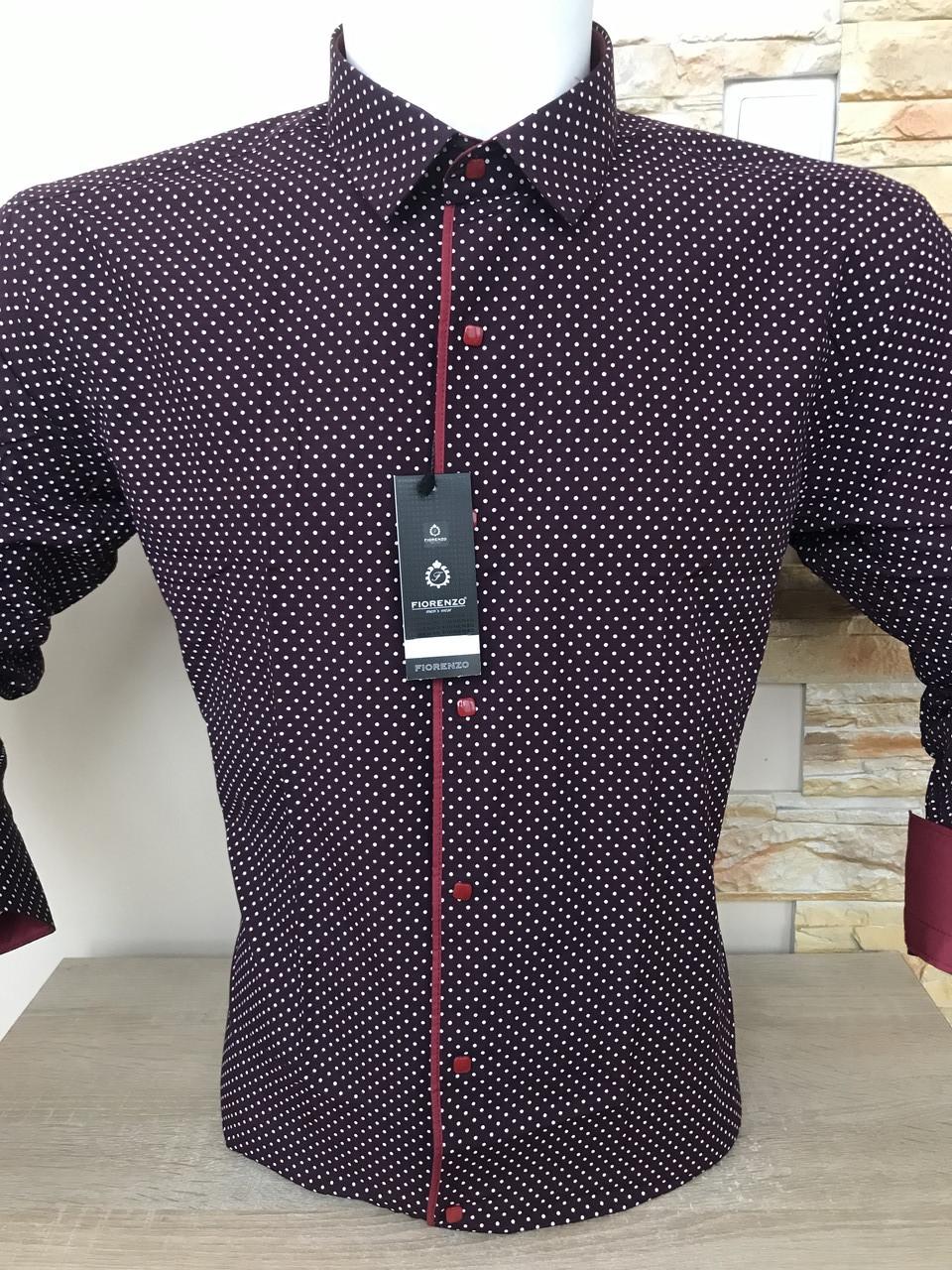 Рубашка Fiorenzo с принтом на кнопке