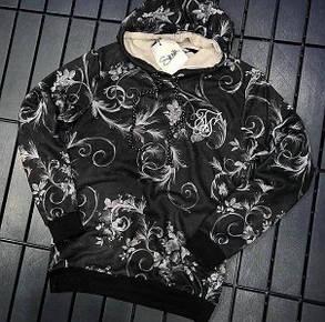 Женская кофта с капюшоном