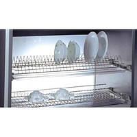 Сушка для посуды в шкаф 900мм с алюм. рамой
