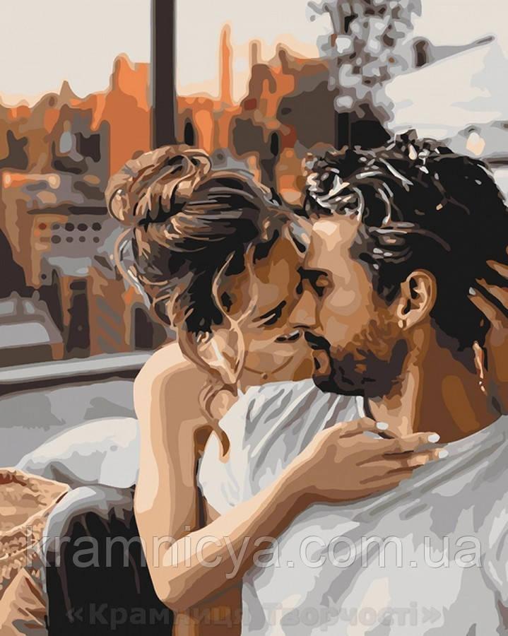 Картина по номерам 40x50 Нежность чувств, Идейка (КНО4655)
