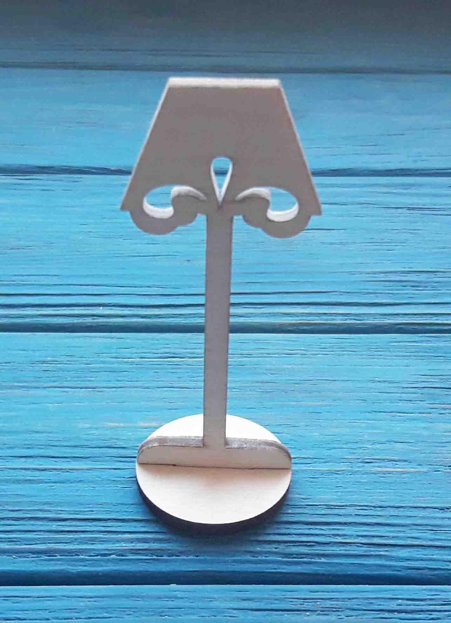 Светильник напольный для кукольного домика