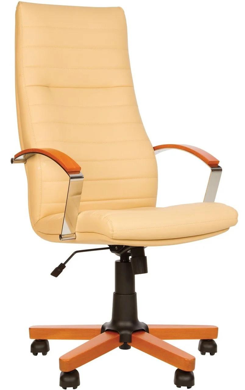 Крісло для керівників IRIS wood Tilt EX4 ТМ Новий Стиль