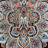 Соловушка 1893-17, павлопосадский платок шерстяной  с шелковой бахромой, фото 2