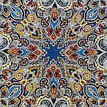 Соловушка 1893-17, павлопосадский платок шерстяной  с шелковой бахромой, фото 9