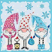 Картина по номерам 40x40 Маленькие помощники, Идейка (КНО2327), фото 1