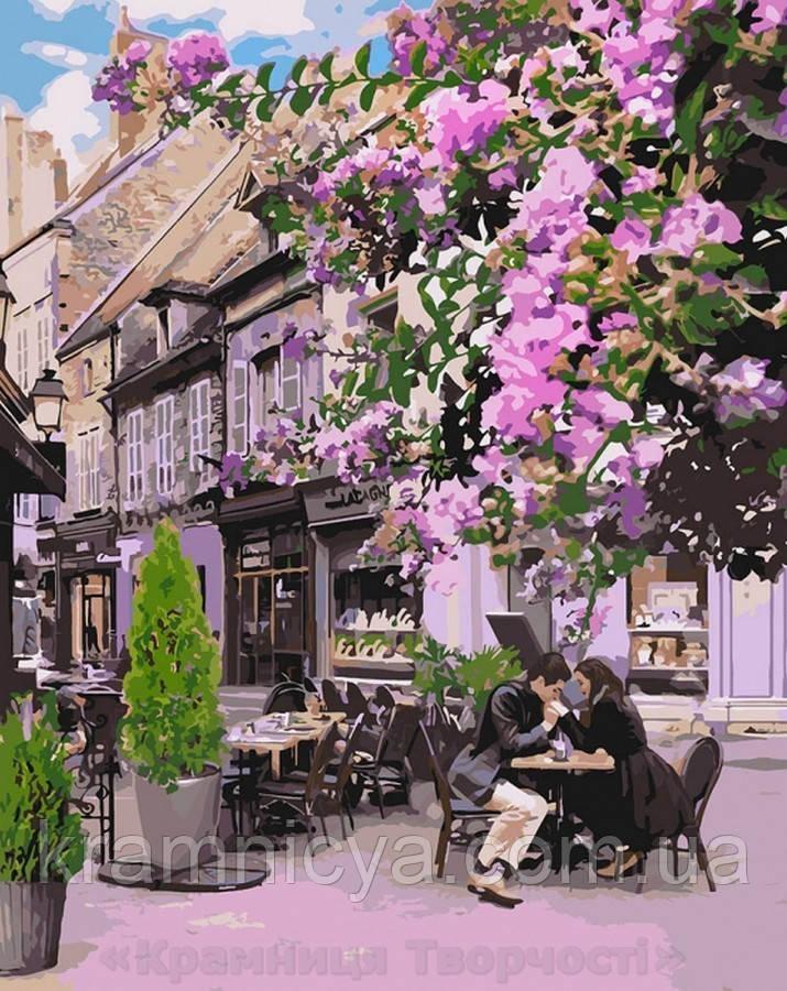 Картина по номерам 40x50 Уютный ресторанчик, Идейка (КНО4653)