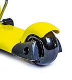 Самокат беговел scooter Smart 3в1 желтый., фото 4