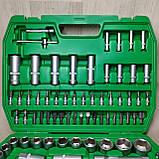 Набор ключей головок  INTERTOOL 108 единиц инструментов, фото 3