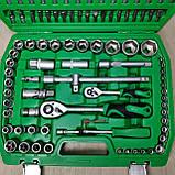 Набор ключей головок  INTERTOOL 108 единиц инструментов, фото 4