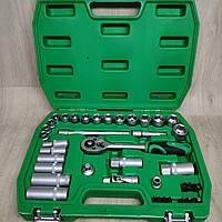 Набор ключей головок INTERTOOL 39 единиц инструментов