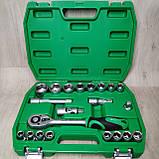 Набір ключів, головок INTERTOOL 21 одиниця інструментів, фото 2