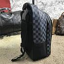 Рюкзак Louis Vuitton из плотной эко-кожи -2 цвета, фото 3