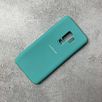 Чохол-накладка Silicone Cover Full Protective Samsung S9 Plus Turquoise