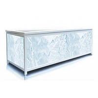 Экран под ванну 170 см, голубой лед, пластиковый каркас