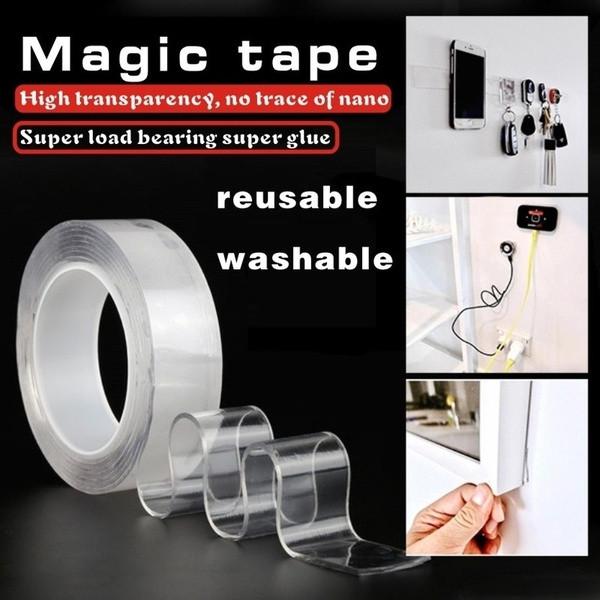 Двусторонняя многоразовая крепежная лента Ivy Grip Tape  5 м