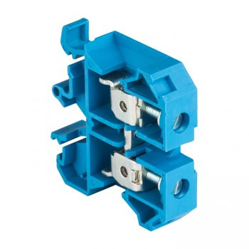 Клеммная колодка JXB-16 16мм2 синяя