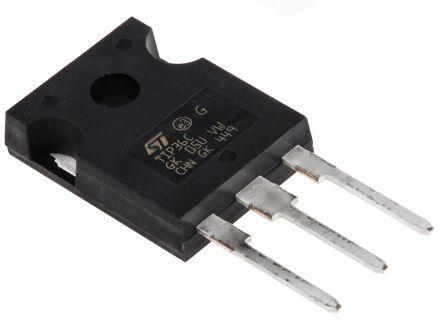 TIP36C, Біполярний транзистор, PNP, 100, 25 А, 125W, [TO-247]