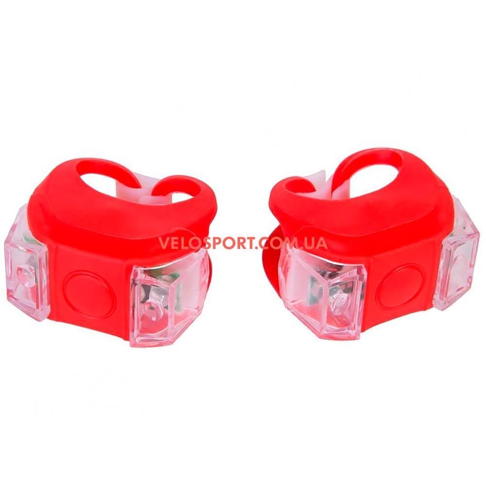 Комплект освещение на велосипед BC-RL8002 красное