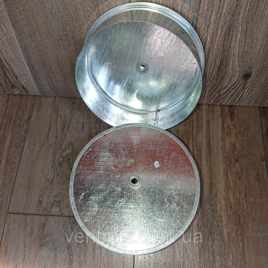 Лейка под тройник d 135 мм из оцинкованной стали
