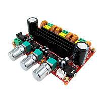 Модуль XH-M139 усилитель D-класса 2.1 на TPA3116D2 2x50W+100W