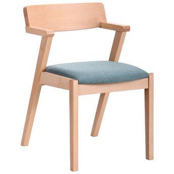 Обеденный стул Рокфор бук беленый AMF