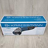 Болгарка  Kraissmann (УШМ) Крайсман 1000-KWS-125, фото 2