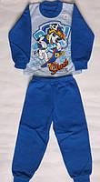 """Пижама с начесом для мальчиков """"Щенячий патруль"""" на рост 86-92, 92-98"""