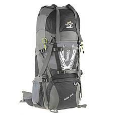 Рюкзак туристический TANLUHU  80х32х24 55+5л Polyester Oxford Rip Stop PU 600D/1600D кс627ч, фото 2