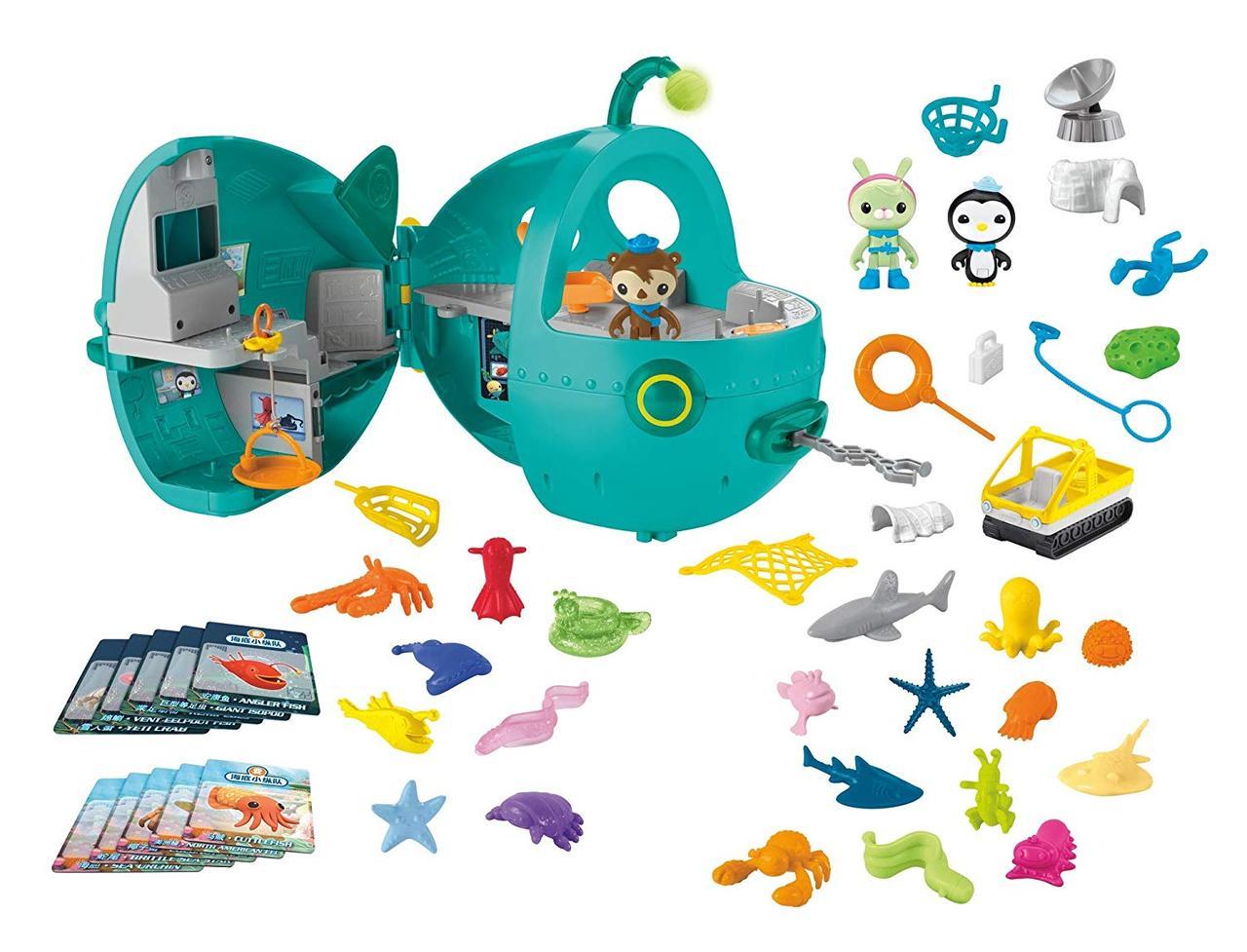 Октонавты игровой набор мегапак Fisher-Price Octonauts Gup-A Megapack Оригинал.