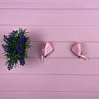 Заколка для волос в виде ушек Розовый