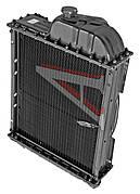 Радиатор МТЗ-80 медный  70У-1301010 (с латунными бачками)(вир-во Россия,Оренбург)