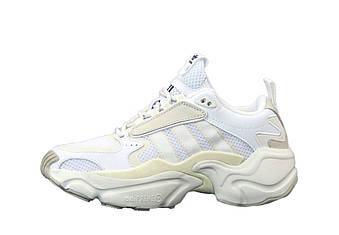 "Женские кроссовки  Adidas Consortium x Naked Magmur Runner ""White"" (копия)"