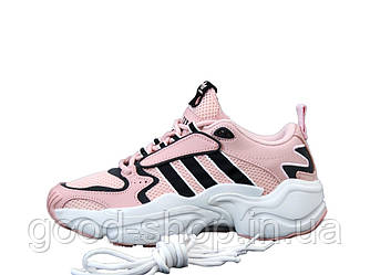 "Женские кроссовки  Adidas Consortium x Naked Magmur Runner ""Pink"" (копия)"