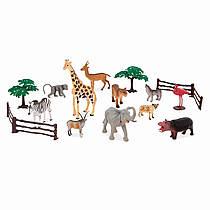 Terra by Battat Мир джунглей набор миниатюрных фигурок животных.