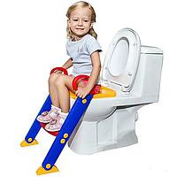 Детское сиденье на унитаз со ступенькой Froggie, фото 1