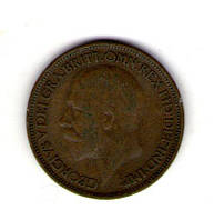 Великобритания пол пенни 1926 Георг V №49