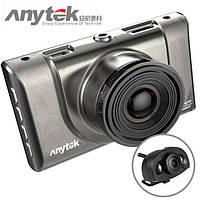 Автомобильный видеорегистраторAnytek A100-Hна 2 камеры HDMI | авторегистратор | регистратор в авто, фото 1