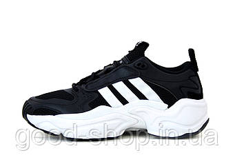 "Мужские кроссовки  Adidas Consortium x Naked Magmur Runner ""Black"" (копия)"