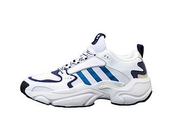 "Мужские кроссовки  Adidas Consortium x Naked Magmur Runner ""White"" (копия)"