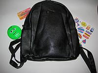 Рюкзак женский /подростковый черный 33*26